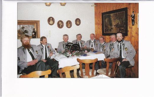 Gründungsmitglieder zum 10-jährigen Jubiläum der Wiedergründung 2001