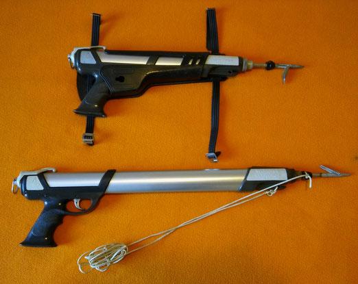 Fusiles Spirotechnique modelos Pulce 40 y 60