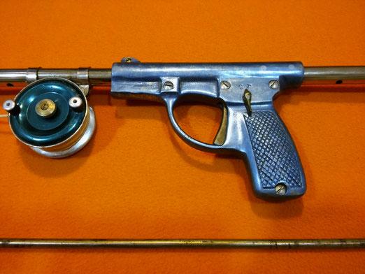 Fusil Beltran de muelle a compresion.