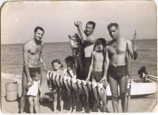 Playa Arenales, Alicante 1962