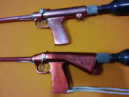 Fusiles Pelletier, P1 y P2
