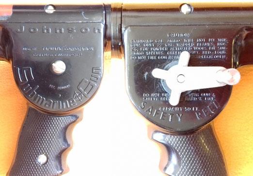 Fusil Johnson Submarine Gun Tapmatic Corporation SMG, 1972 de un solo cañon.