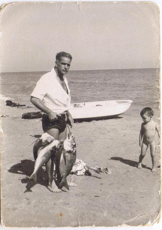 Playa Arenales, Alicante 1962