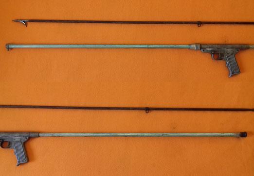 Fusil de muelle a compresion cressi Cernia Sport Extra 1957