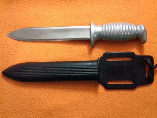 Cuchillo de buceo marca Beltran, Mallorca finales de los 50 y 60