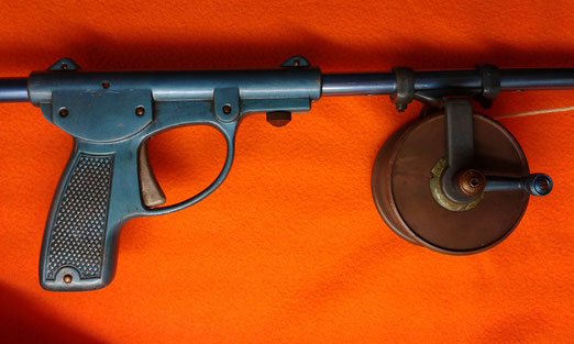 Fusil de duraluminio plegable