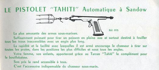 Pistolete Tarzan Tahiti