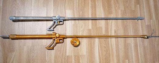 Fusiles Beltran Modelo 150 con y sin bomba incorporada.