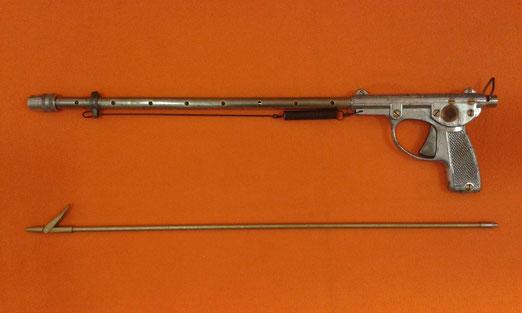 fusil de muelle a extension corto de laton