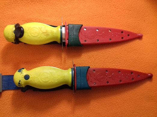 Cuchillo Hidrostatico nemrod años 50 y 60