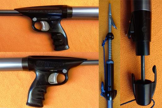 Fusil Spirotechnique Phanter con bomba de carga incorporada