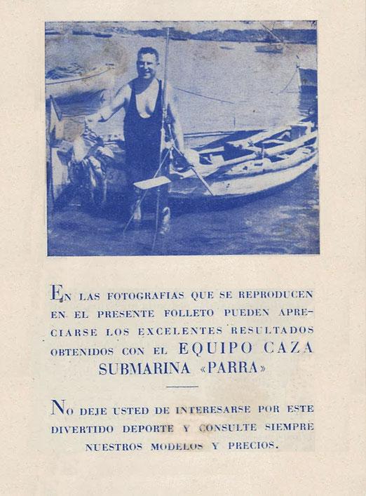 Pedro Parra fabricante de fusiles