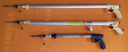 Fusiles Copinos, modelos Maxi y Divisor