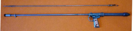 Copia de fusil Nemrod Fragata de otro fabricante.