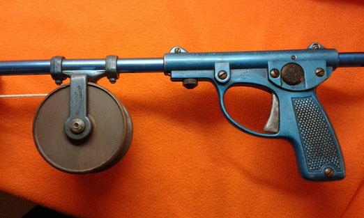 Fusil de duraluminio anodizado plegable