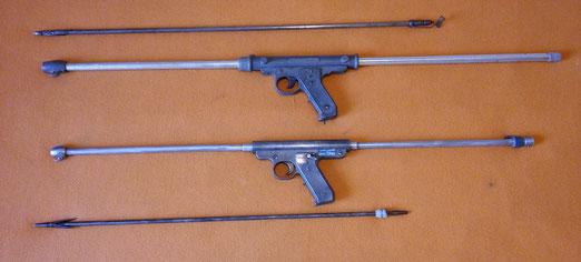 Fusiles Mares Bess modelo B y Rapallo Bess Baby