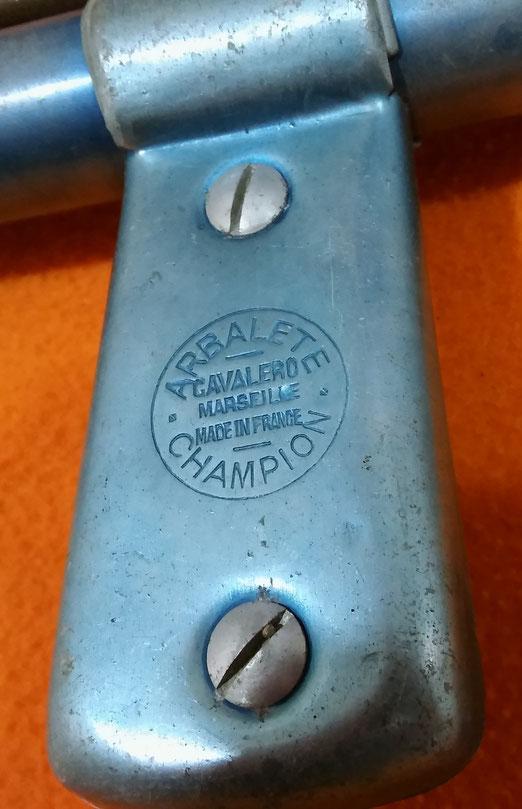 Fusil Rene cavalero champion, modelo de luxe, tubo con diametro de 24mm