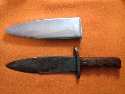 Cuchillo de los Buzos de Combate de la Armada Española años 50 Nemrod