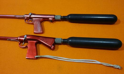 Fusiles Pelletier, modelo P1 y P2, co2