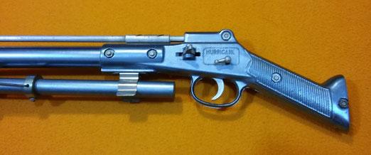 Fusil roller Hurricane COMET, años 50