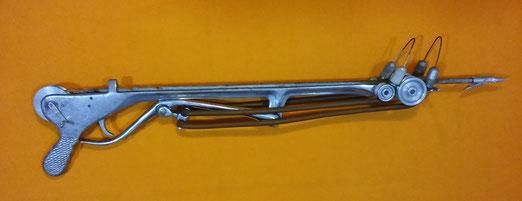 Fusil de un fabricante de fusiles español que los hacia bajo encargo.