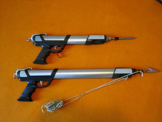 Fusiles Spirotechnique modelos Pulce 40 y 60,