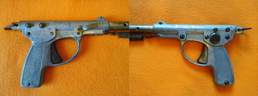 Fusil Nemrod corto de muelle a extension, modelo 1945.