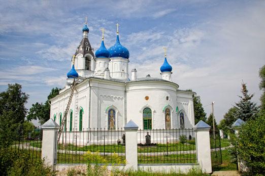 Храм Казанской иконы Божией Матери в селе Казанское