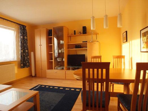 Salon, appartement deux chambres