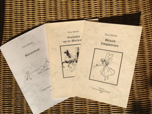 Petra Mettke/Märchenbuch Edition/Druckheft von 2002/Einbände