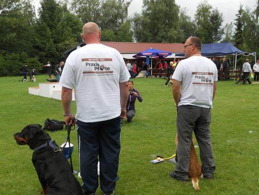 Betreuung durch Praxis Pfote auf dem Nero - Pokal 2012