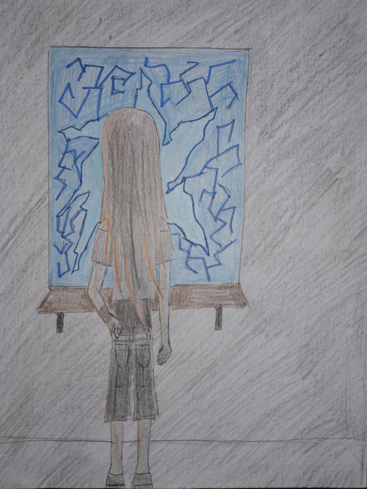 "Naomi bei ihrem ersten ""Auftritt"" (Kapitel 10, Snakes Vs. Ravens Vs. Foxes)"