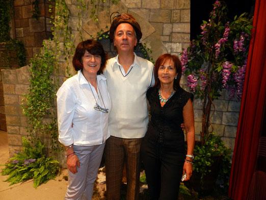 Rosella, Luciano e Daniela