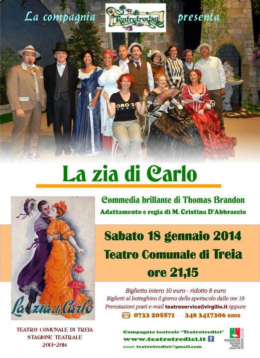 Stagione teatrale di Treia (Macerata)