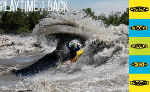 Thomas richard, kayak freestyle, preparation physique