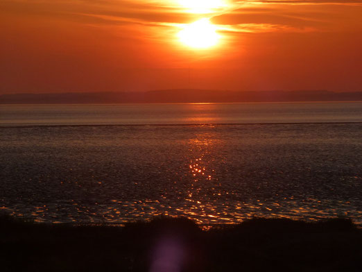 A Sunset in Weston Super Mare, United Kingdom