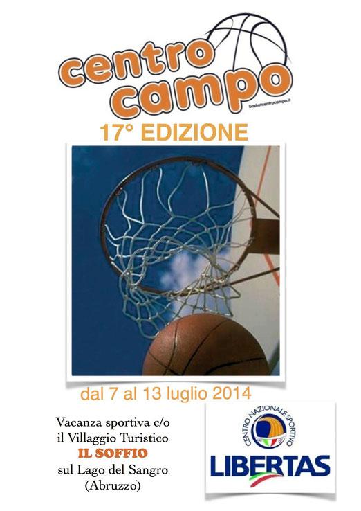 locandina centro camp 2014