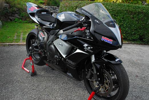 Honda CBR 1000 RR, #67, Akrapovic Racing, Dynojet Power Commander V, etc.