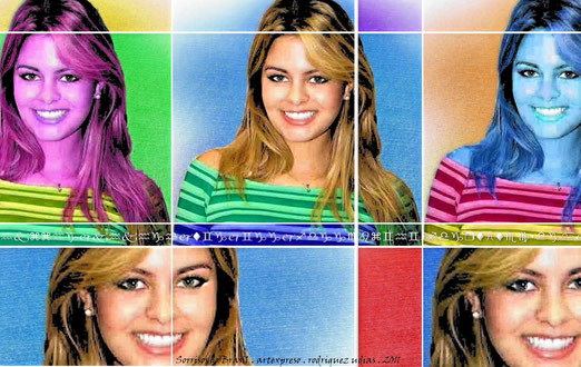 Sorrisos do Brasil / Pop Art / artexpreso