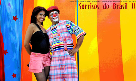 Sorrisos do Brasil . Belo Horizonte . artexpreso . rodriguez udias . 2013