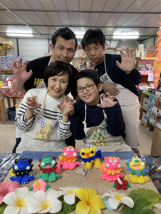 年末恒例の家族で沖縄旅行