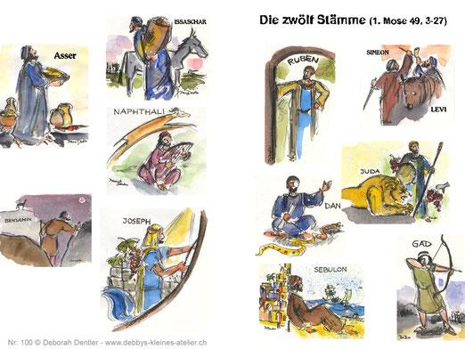 die zwölf Stämme