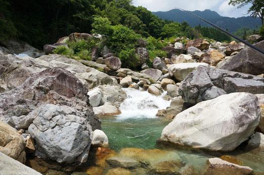 標高が高めの渓流
