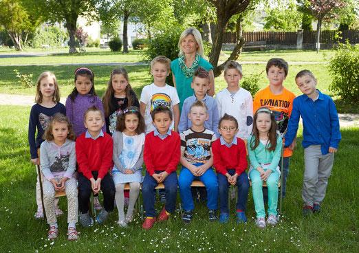 2b Klasse Schuljahr 2014/15 Klassenlehrerin Susanna Kiss