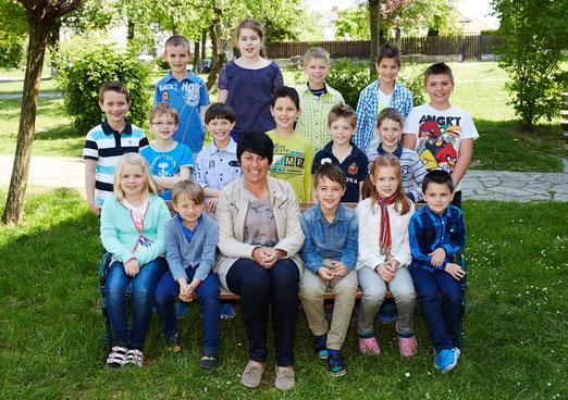 3b Klasse Schuljahr 2014/15 Klassenlehrerin Gabriele Kerschbaum