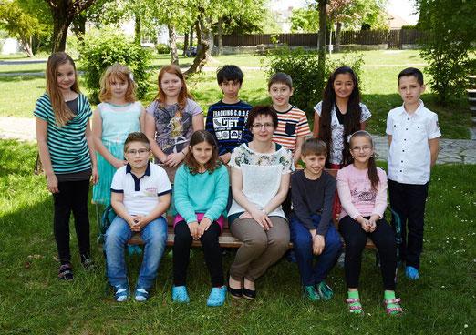 4b Klasse Schuljahr 2014/15 Klassenlehrerin Petra Wohlmuth