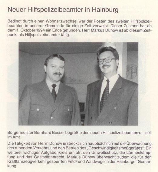 Jahrbuch der Gemeinde Hainburg 1994