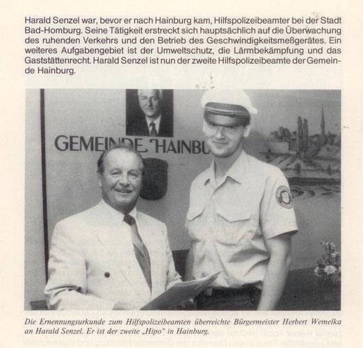 Jahrbuch der Gemeinde Hainburg 1990