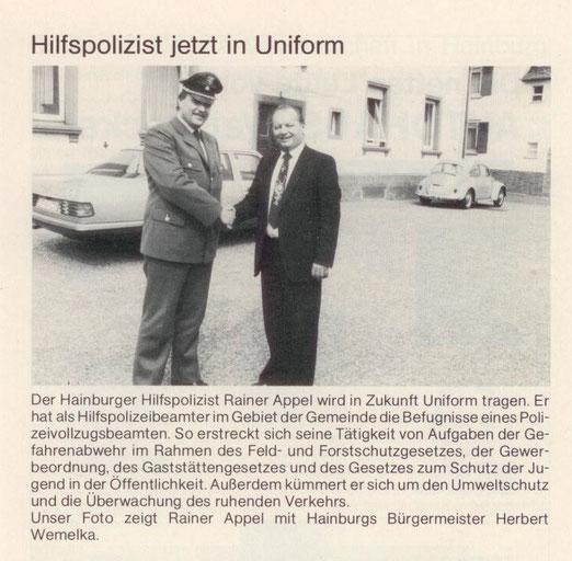 Jahrbuch der Gemeinde Hainburg 1984