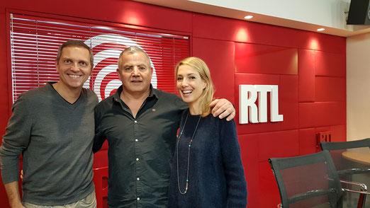 Invité le jeudi 30 novembre sur RTL dans l'émission de Sidonie Bonnec et Thomas Hugues